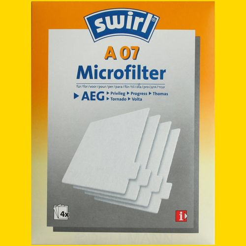 Swirl A 07 Microfilter A07 Mikrofilter