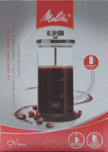 Melitta Kaffeebereiter Press 0,35 Liter