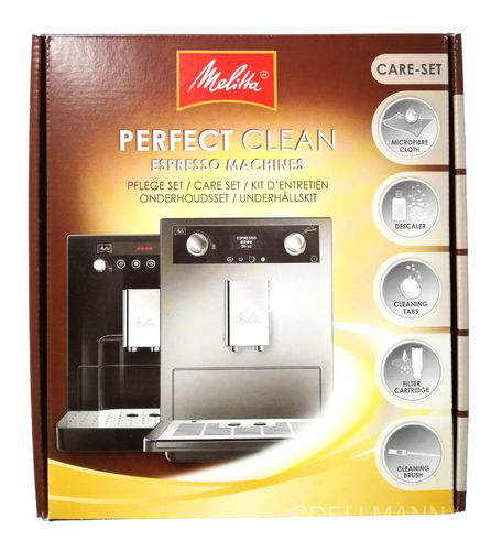 Melitta Pflegeset Perfect Clean Pflege-Set Care Set Pro Aqua